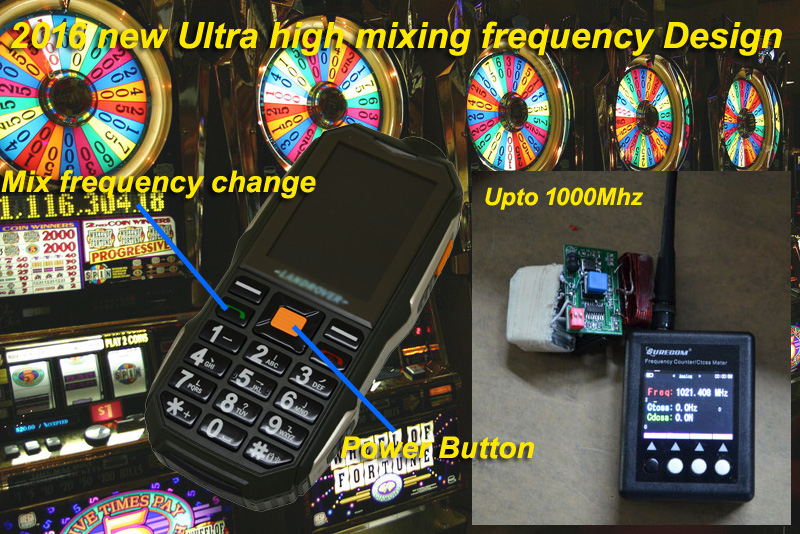 UHF high frequency jammer